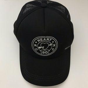 Roxy Trucker Hat in Black